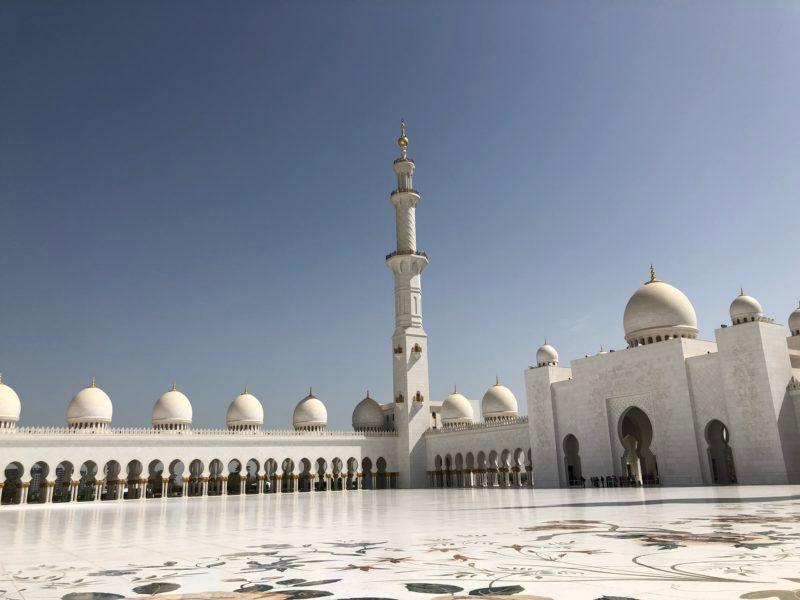 Mosquée Blanche Abu Dhabi