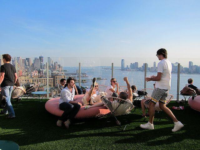 meilleur bar rooftop de new york le bain