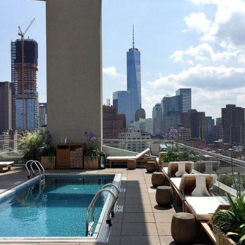 meilleur rooftop piscine new york