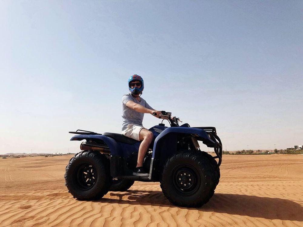 quad dubai désert
