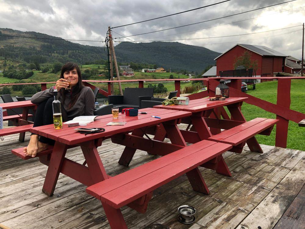 Camping Ulvik Cidre Norvège