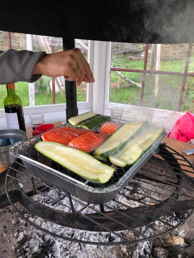 Barbecue en Norvège