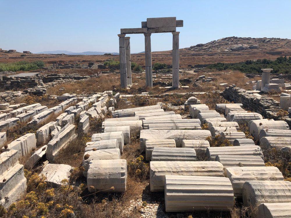 Delos Mykonos Grèce