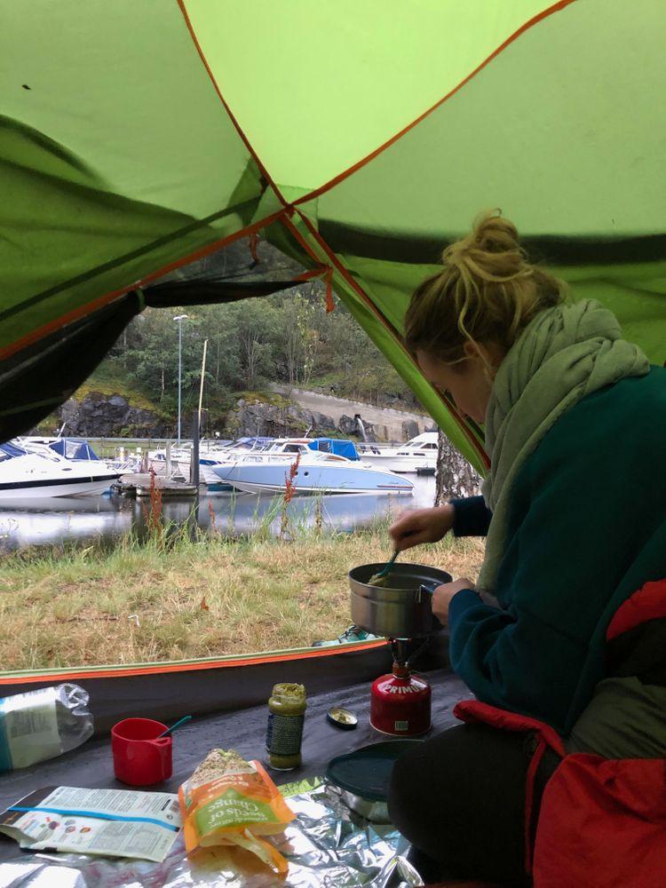 Camping Tente Norvège