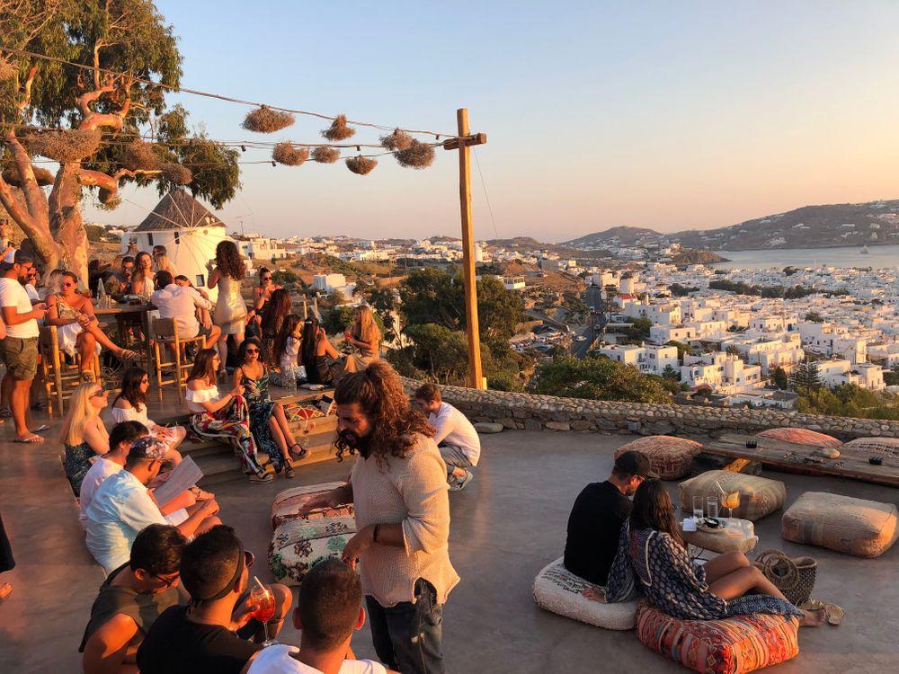 Sunset 180 Bar Mykonos