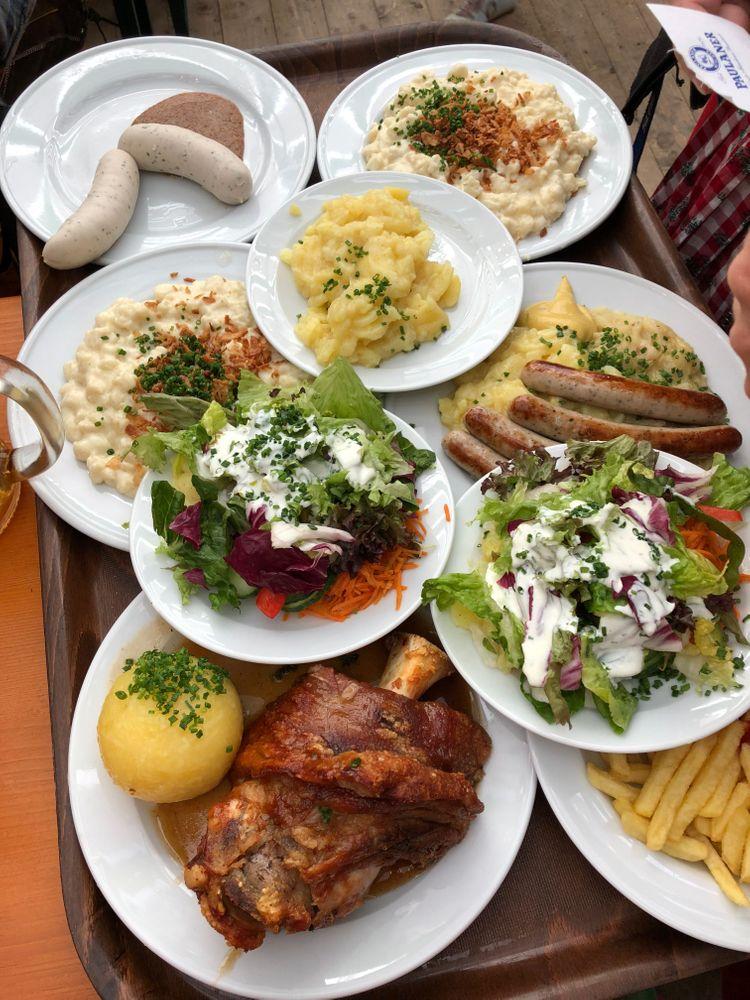 oktoberfest munich plats spécialités culinaires