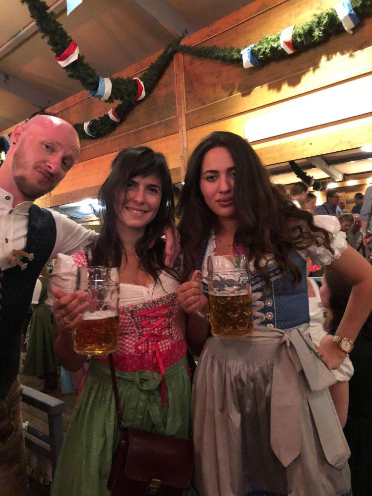 oktoberfest bières filles