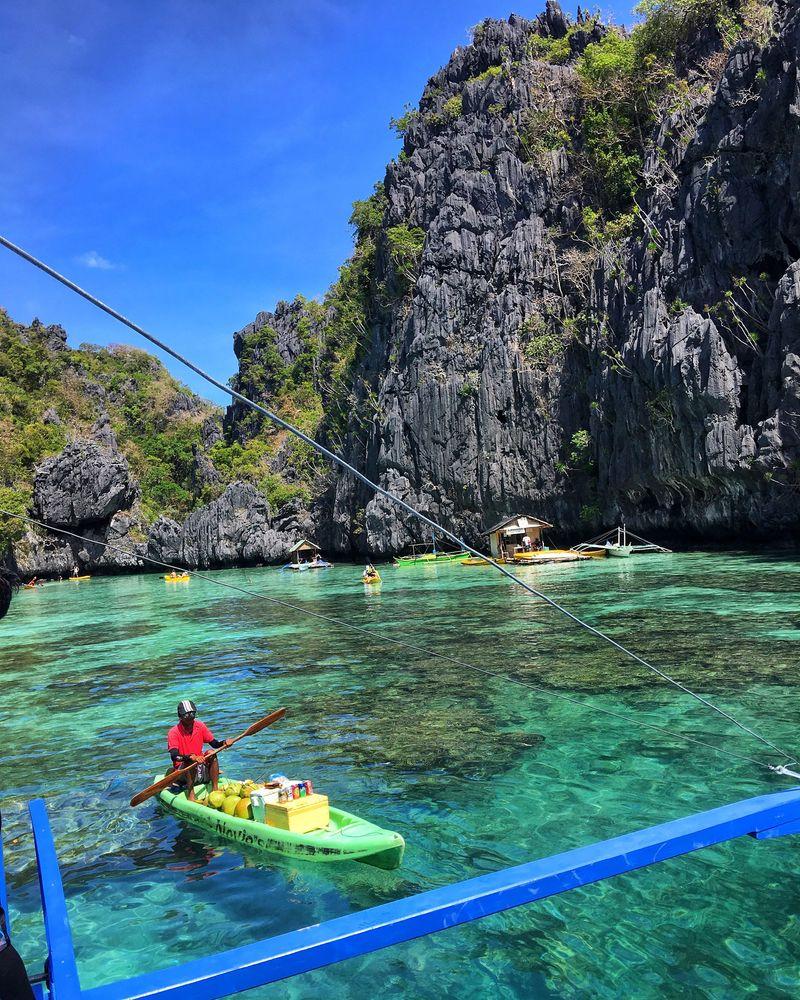 bateau kayak vendeur philippines el nido que faire aux philippines