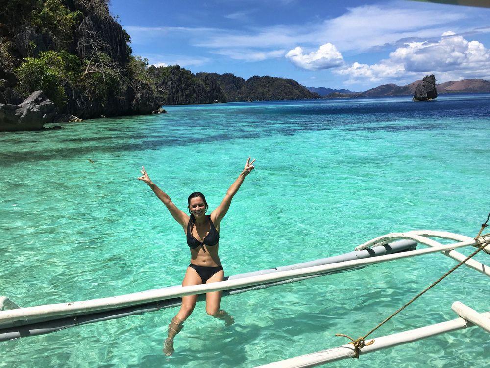 Philippines eau turquoise palawan paradis
