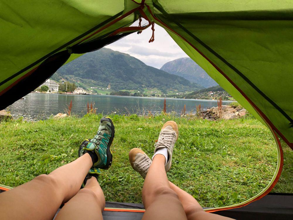 Camping sauvage Norvège