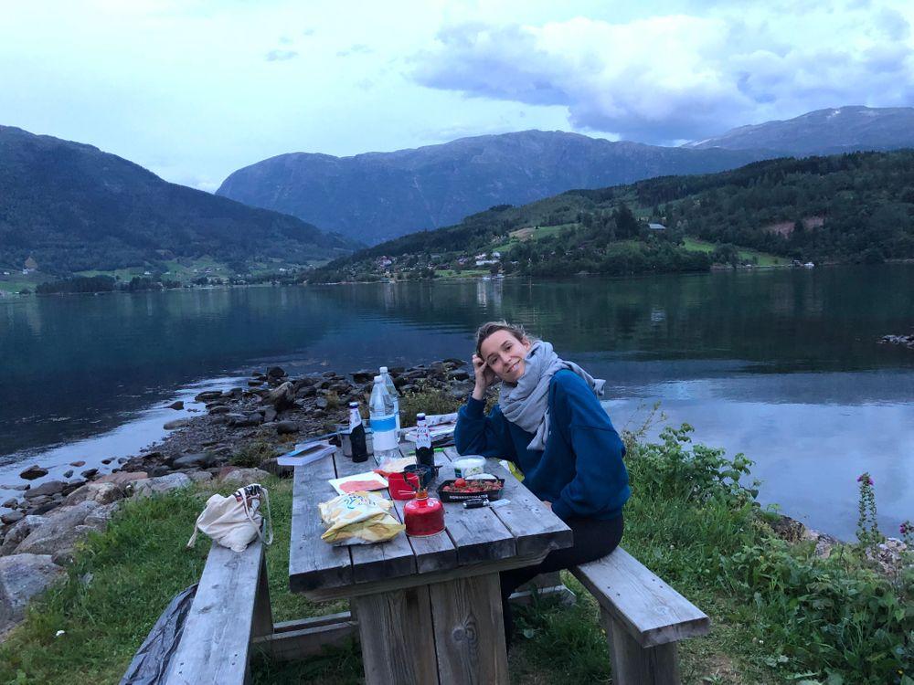 Norvège Pique-Nique Lac