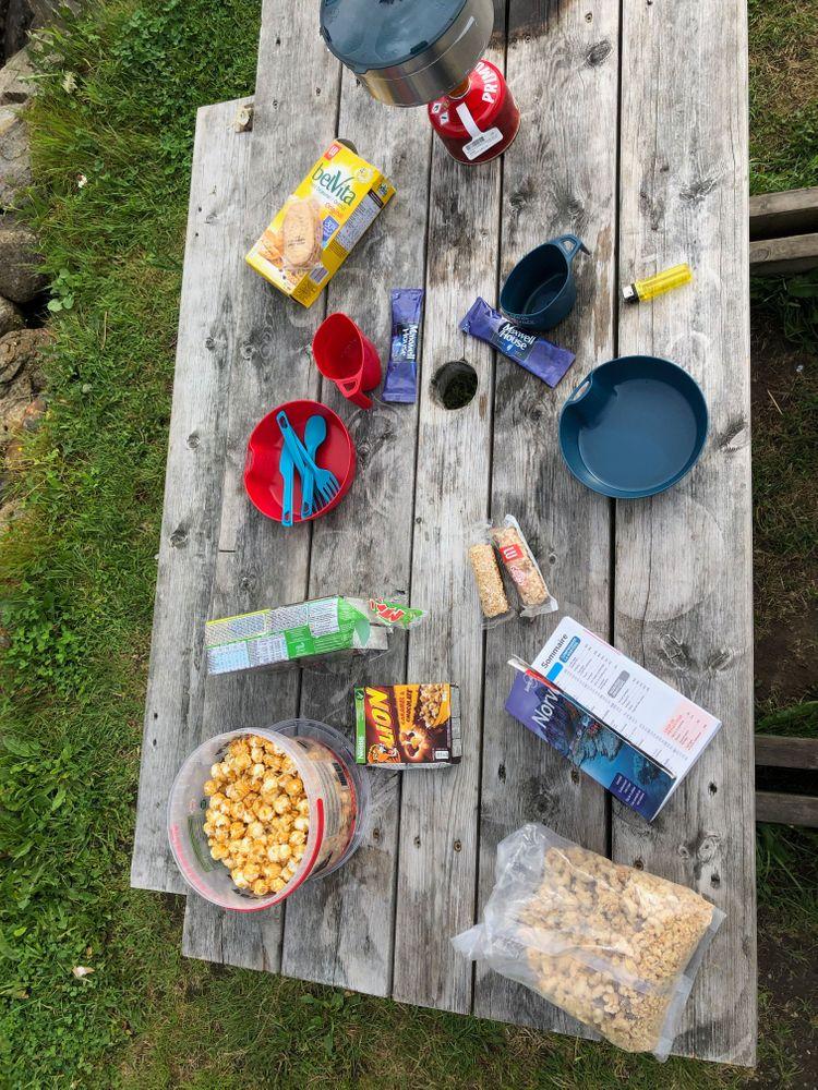 Petit Déjeuner Camping