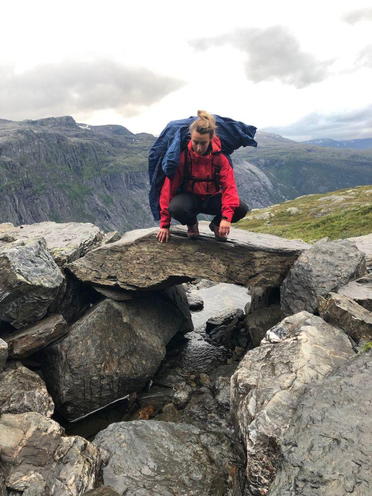 trolltunga randonnée norvège pluie