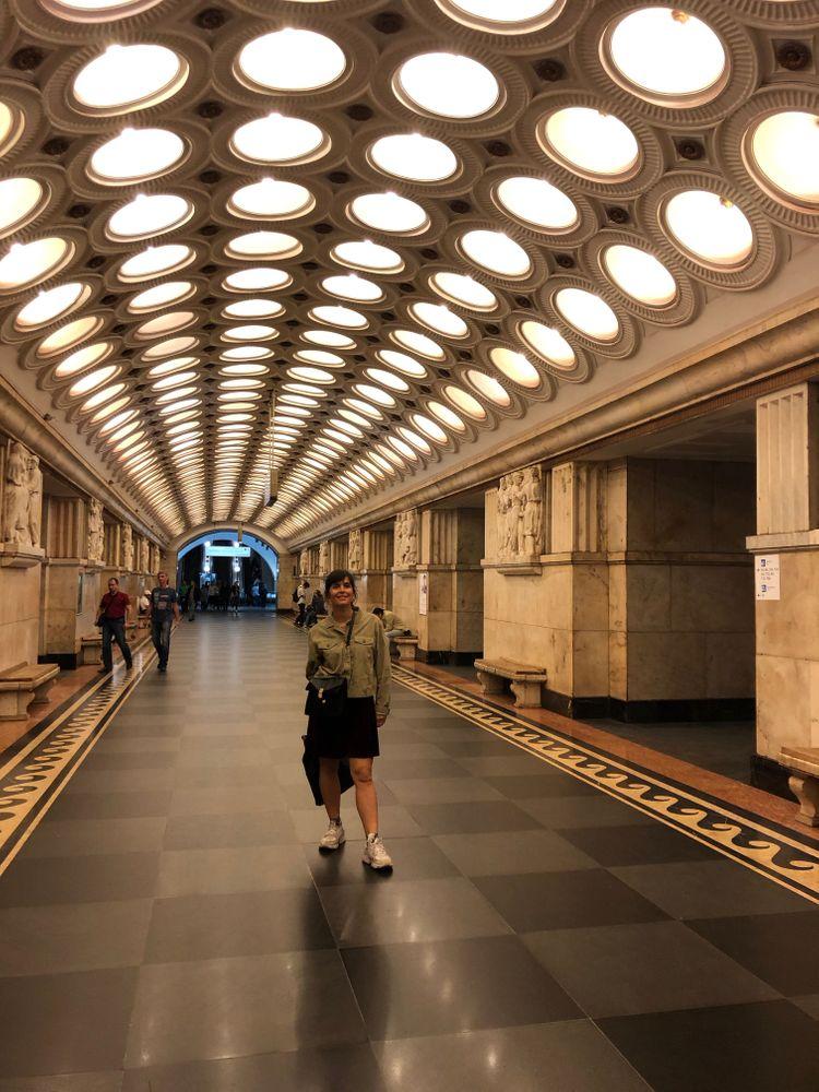 Les plus belles stations de métro de Moscou Elektrozavodskaya