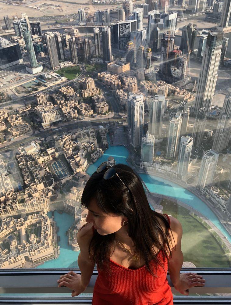 Burj Khalifa Dubai vue