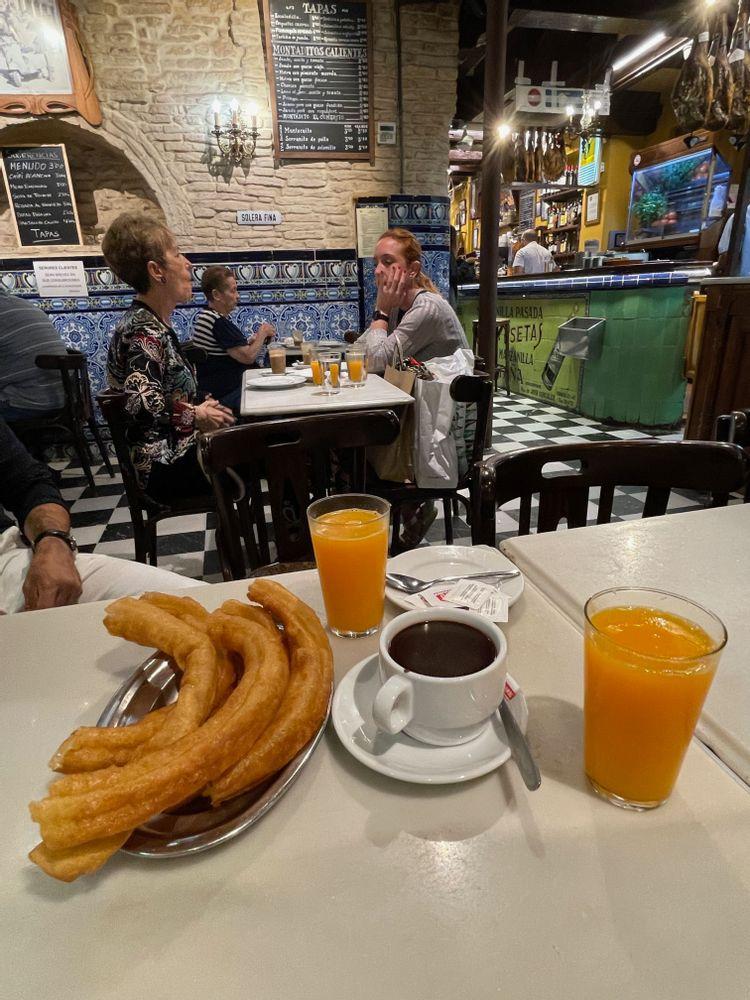 Où manger à Séville ? Les meilleurs restaurants de Séville - El Comercio Churros