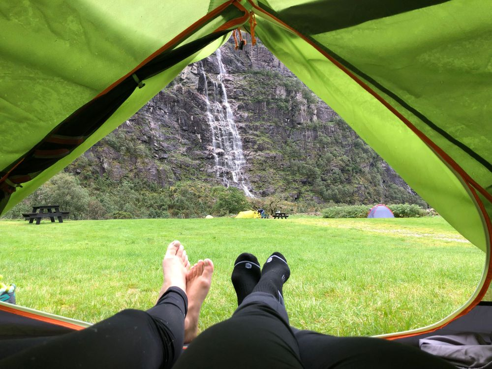 Camping Norvège Kjeragbolten