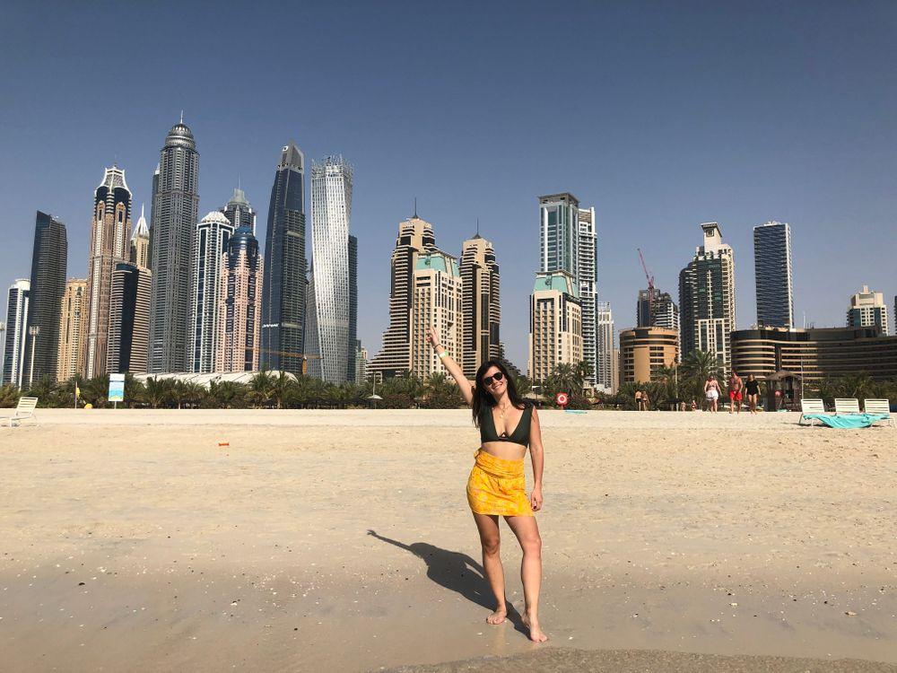 Dubai Plage Gratte-ciel