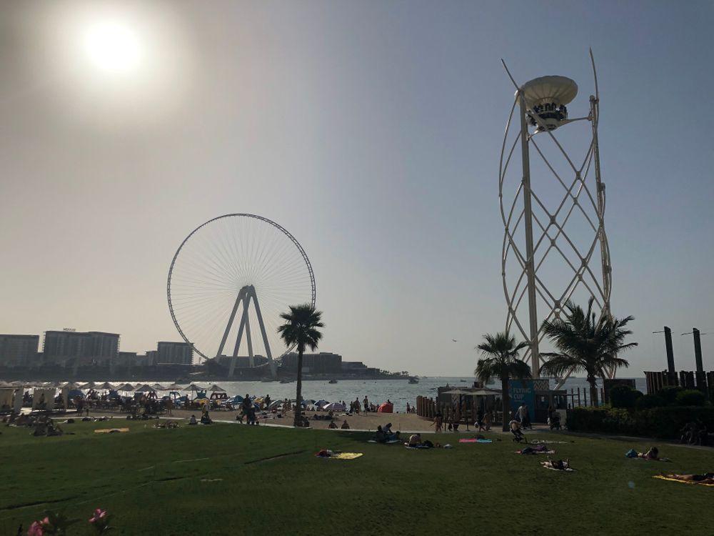 Grande roue Dubai