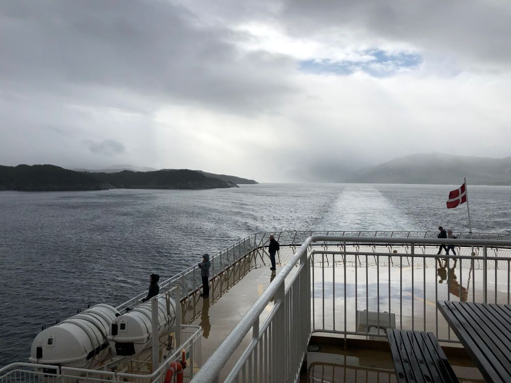 Ferry Norvège