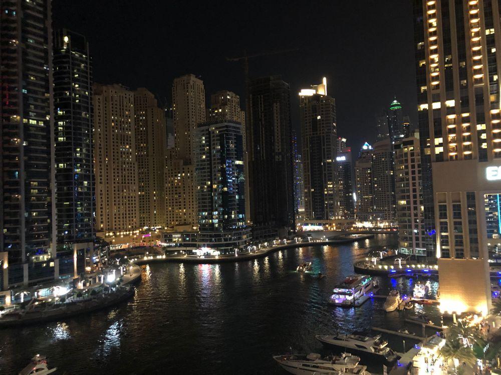 marina de nuit dubai