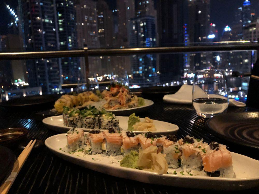 sushi dubai asia asia restaurant
