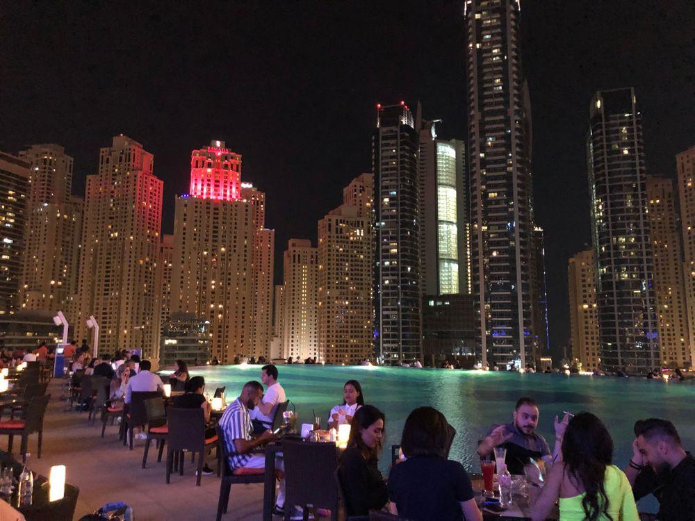 meilleur rooftops Dubai The Address Dubai Marina