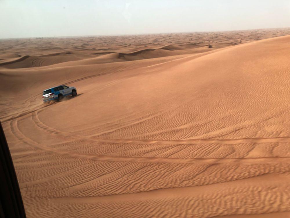 désert dubai que faire à dubai