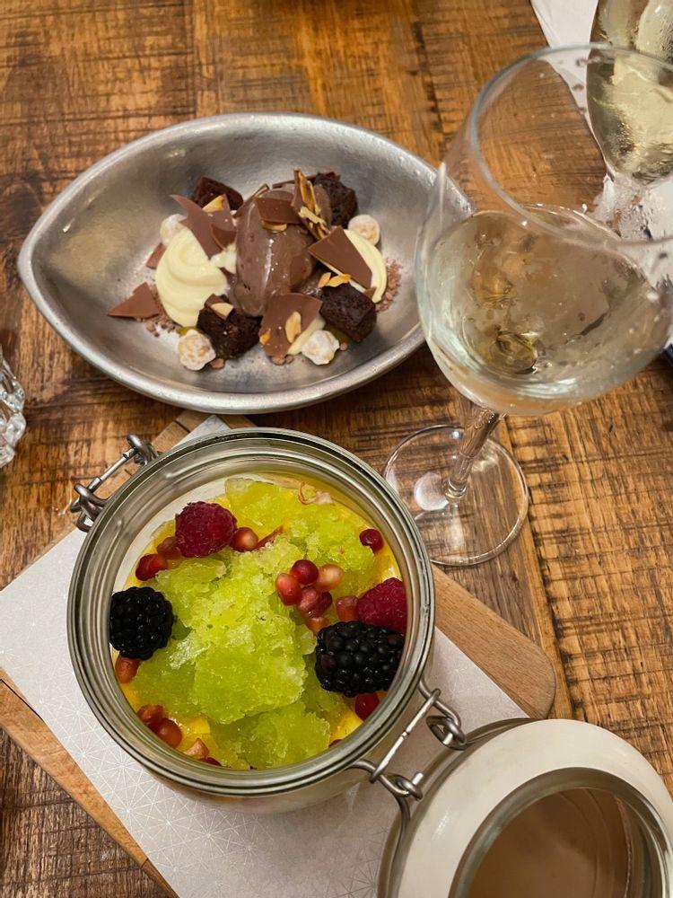 dessert torres y garcia restaurant seville