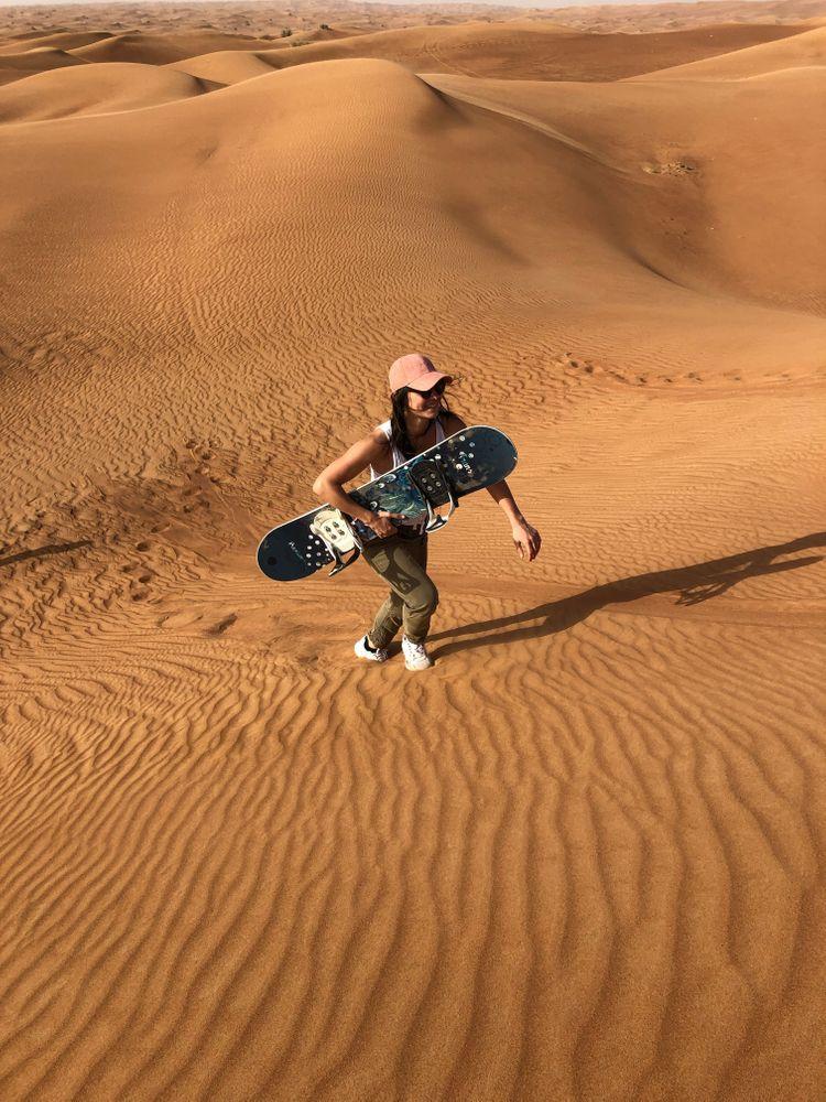 surf des sables dubai expérience insolite
