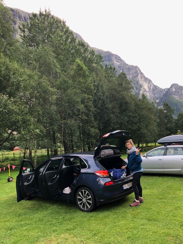 Camping en Norvège