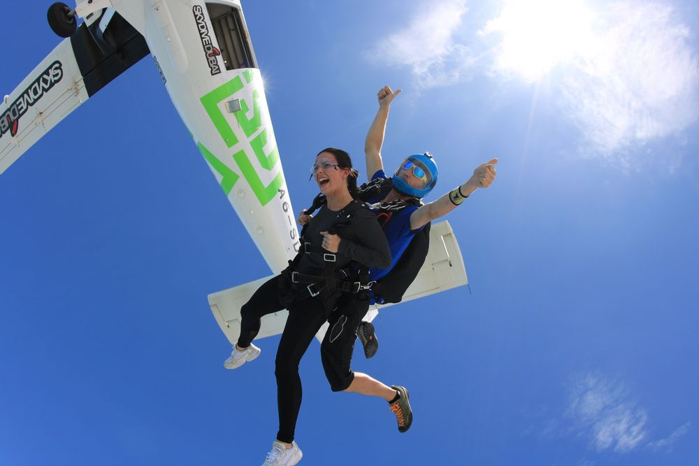 saut en parachute dubai palm jumeirah