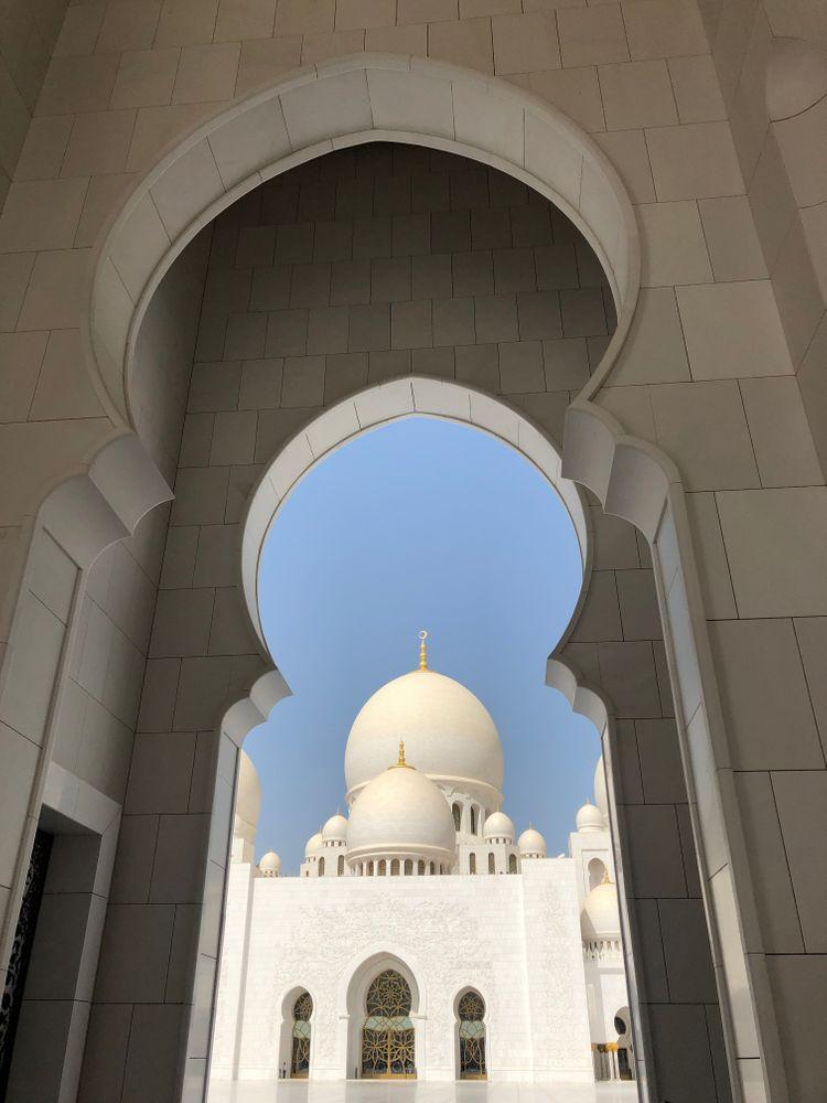abu dhabi mosquée blanche