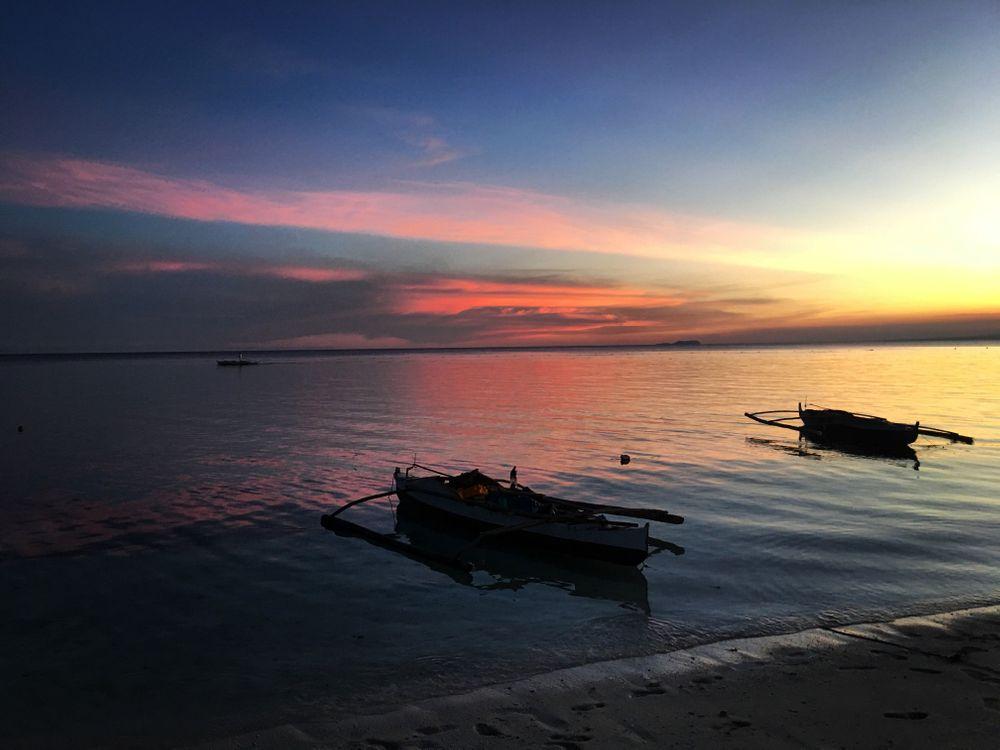 Philippines coucher de soleil sunset