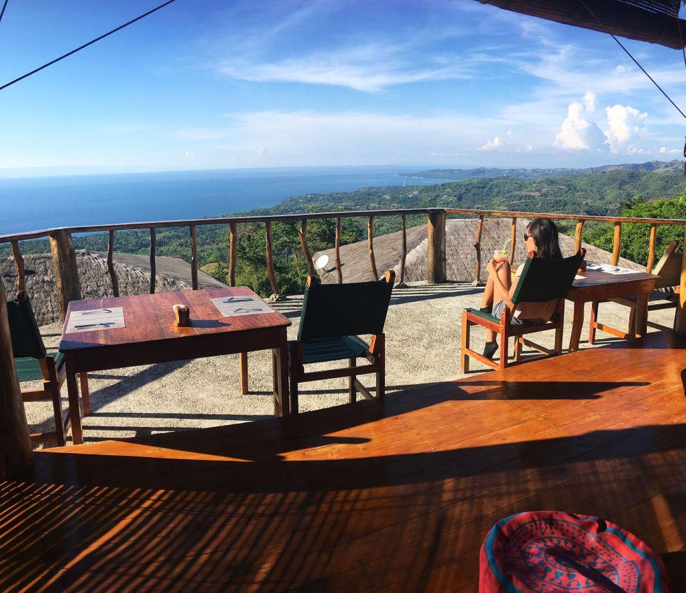 philippines vue sur mer restaurant