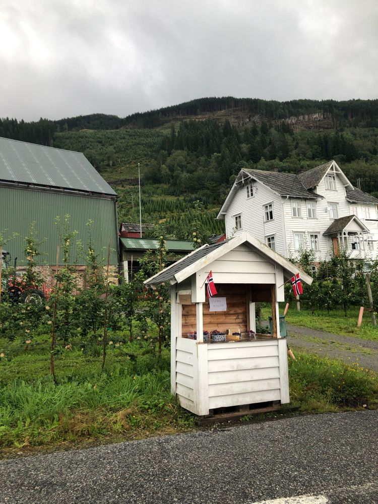 Cabane Fruitière Norvège