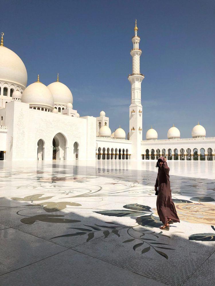 Grande mosquée Blanche d'Abu Dhabi