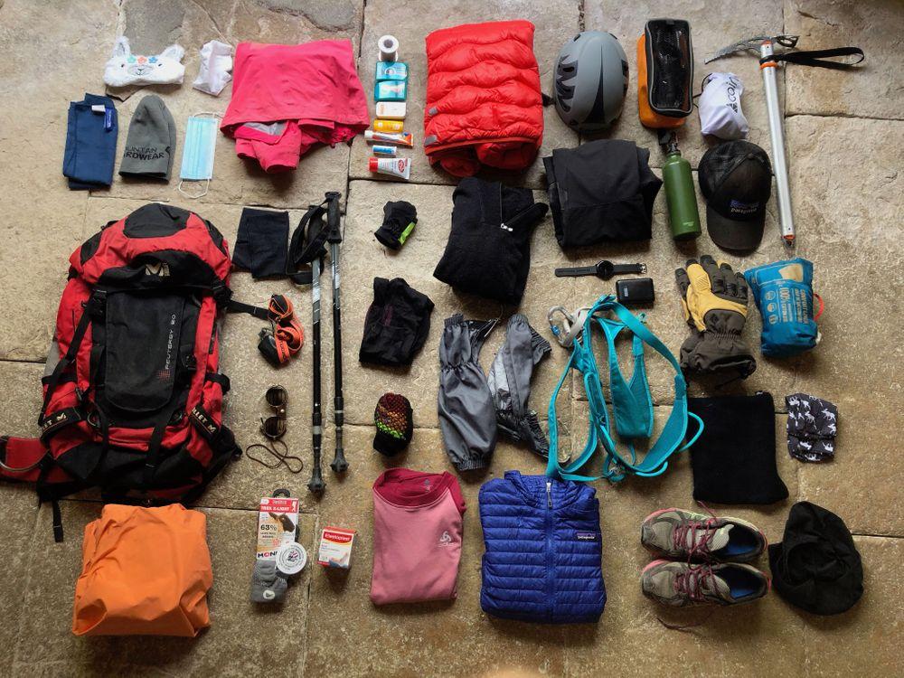 bien préparer son sac pour le mont blanc équipement ascension mont blanc que prendre pour le mont blanc
