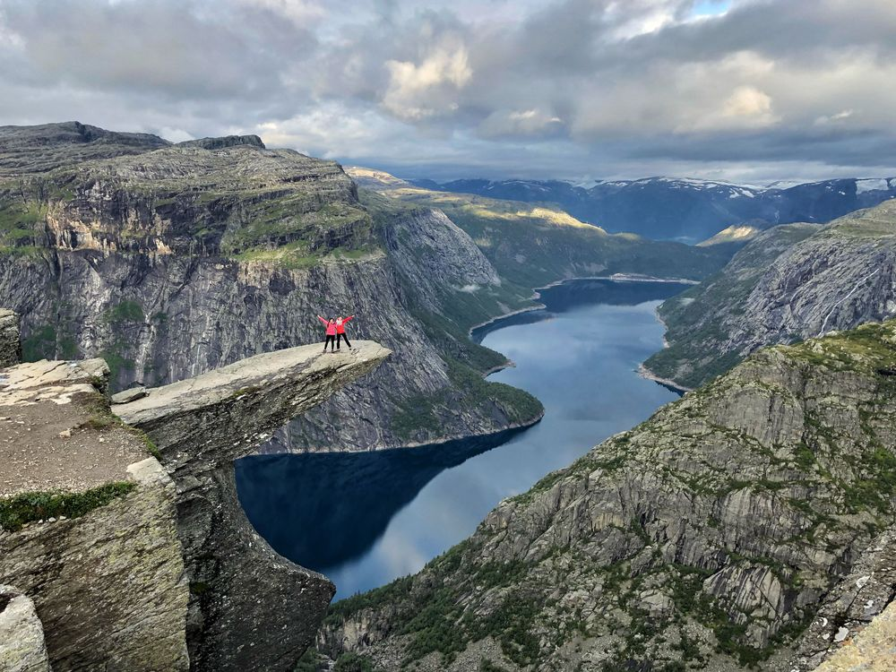 Trolltunga Norvège Randonnée