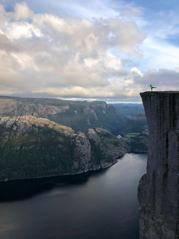 Preikestolen Norvège Randonnée