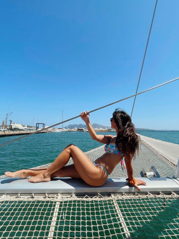 catamaran majorque robinson boat