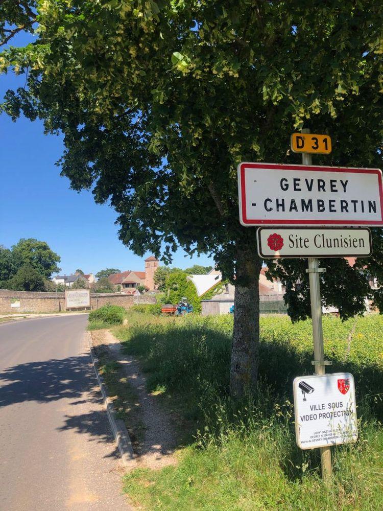 Bourgogne Parcours en vélo vigne Dijon