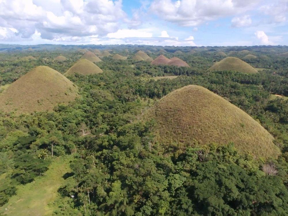 chocolate hills bohol que faire aux philippines