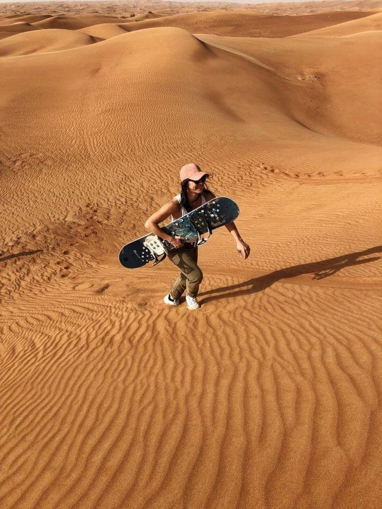 Surf des sables Dubai désert