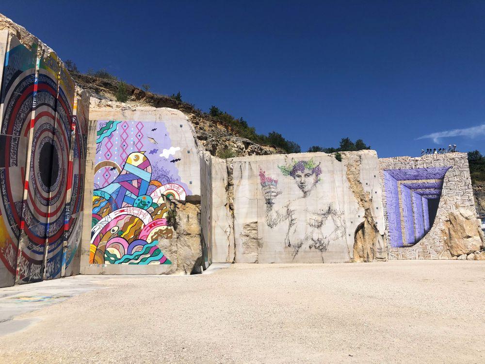 karrière villars fontaine street art dijon bourgogne