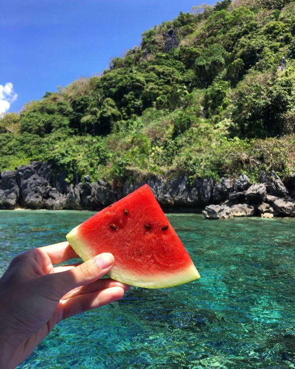 que faire aux philippines pastèque mer