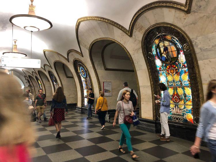 les plus belles stations de métro de moscou