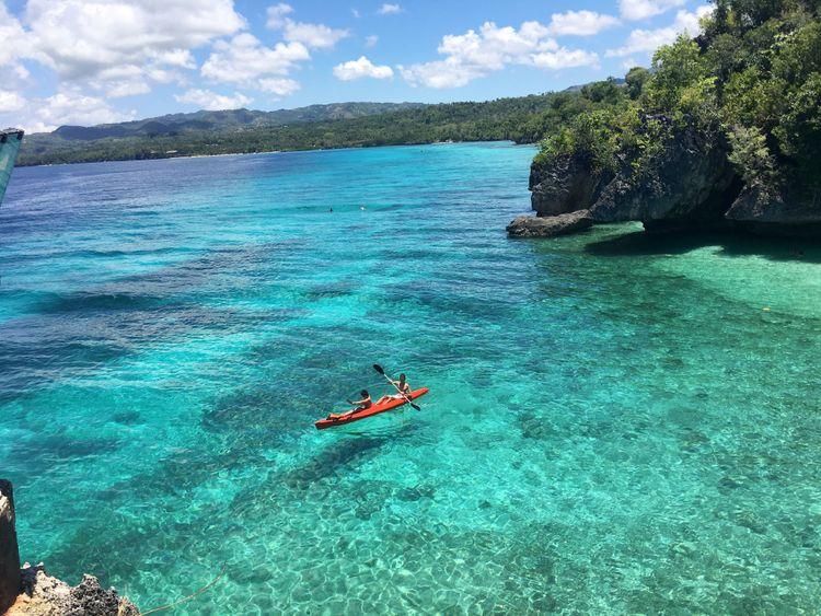 Philippines Paradis Siargao mer eau turquoise