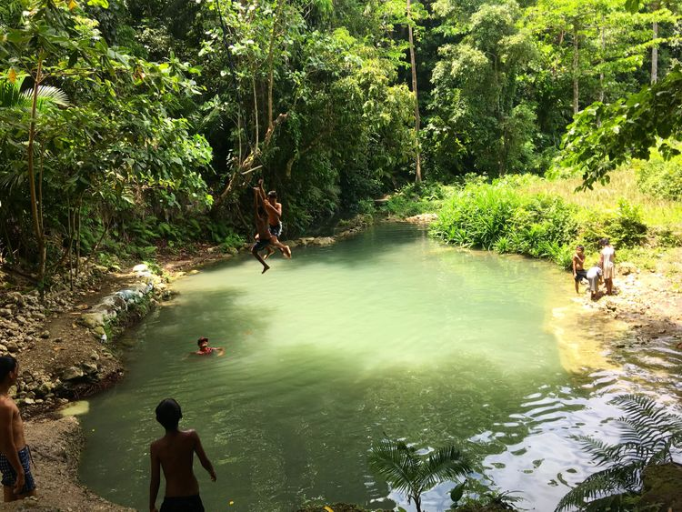 que faire aux philippines rivières siquijor