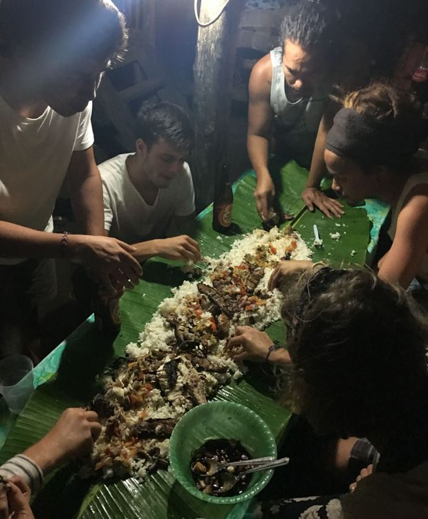 philippines feuille de bananier pique-nique expérience locale